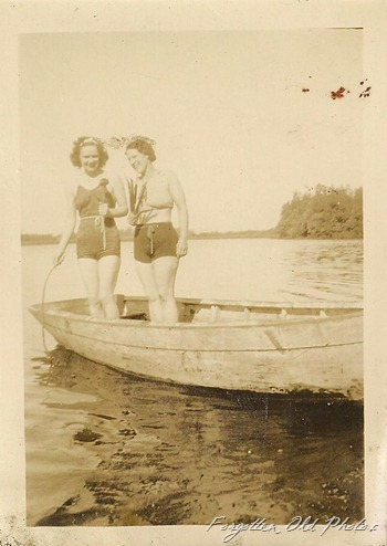 Boating gals DL Antiques