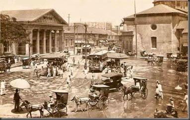 Plaza-Goiti-1920s manila phillippines