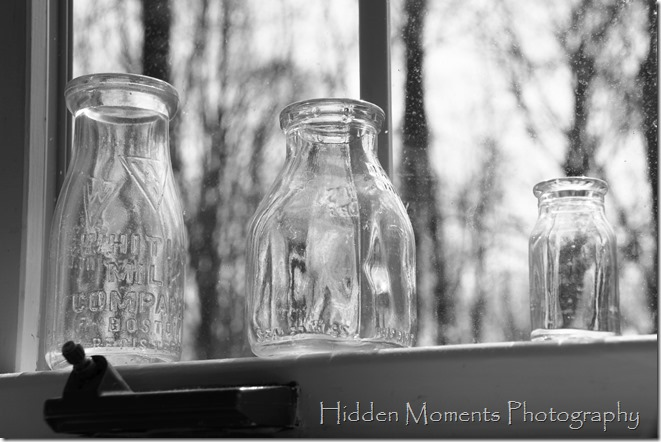 Day 103-Cream bottles in monochrome
