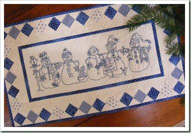 Birdbrain blå jul
