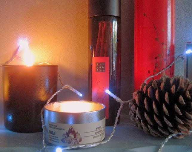 Muji-Log-fire-candle,Rituals-Fragrance-Sticks