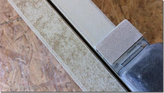 sanding MDF doors