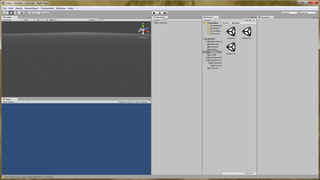 Unity3dDefaultView