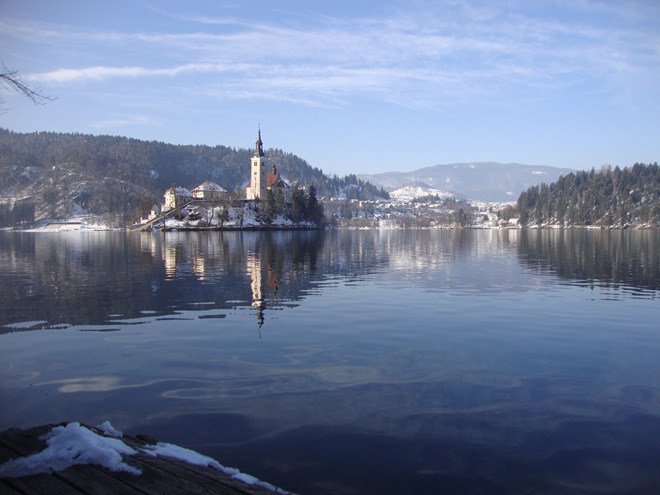 Bled winter