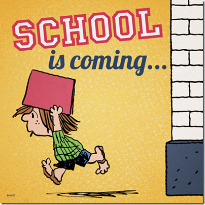 Peanuts - School is Coming