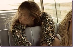 girl in bus boho-chic