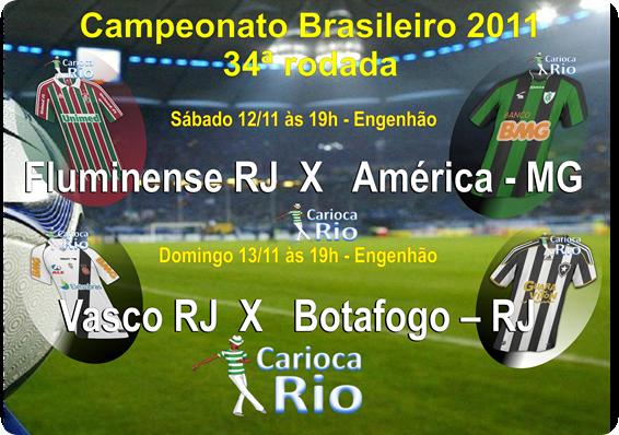 Campeonato Brasileiro 2011 - 34ª rodada