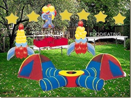 Decoración de Jardines para Fiesta Infantil5