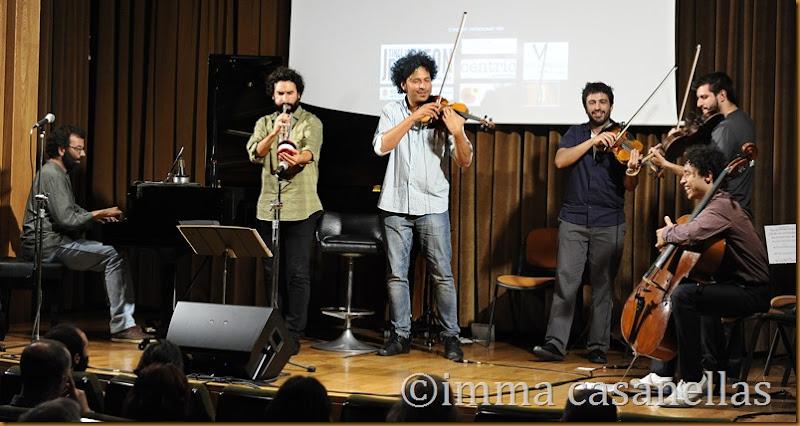 Galiana & Sánchez Dúo + AUPA Quartet, Vilafranca del Penedès 2014