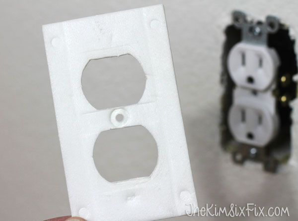 Outlet insulation