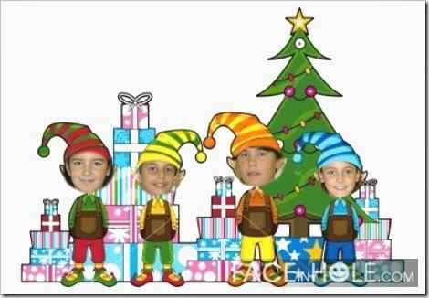 Gabriela, Nicolás, Hugo e Aitana
