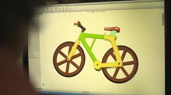 Bicicleta de papelão 06