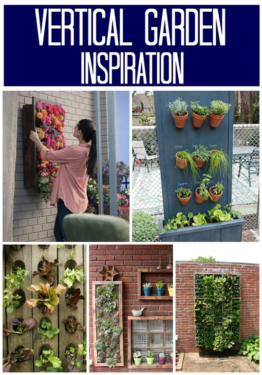 Decor And The Dog: Vertical Garden Inspiration { Part 1: #