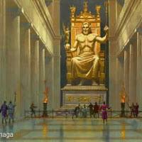 25.- Fidias. Zeus de Olimpia