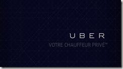 Uber, votre chauffeur privé