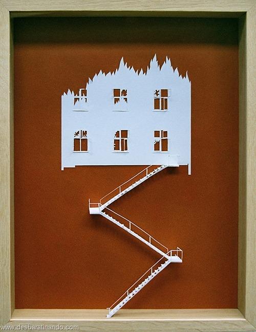 obras de arte em papel 3D origami Peter Callesen desbaratinando (19)