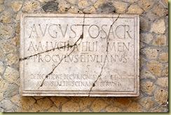 Augustali Inscription