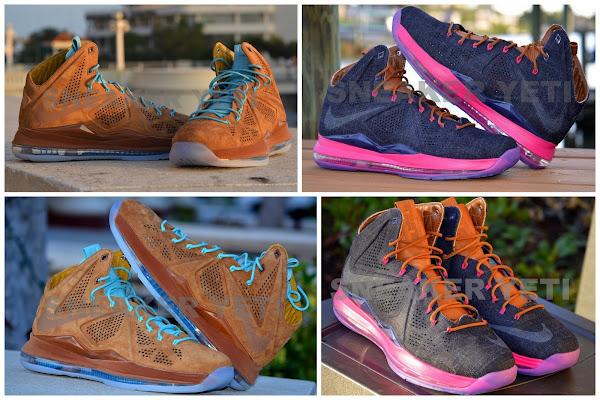 Nike Sportswear8217s LBJ X EXT 8211 Brown Suede amp Denim 8211 Postponed
