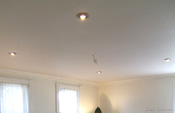 Living Room recessed lights