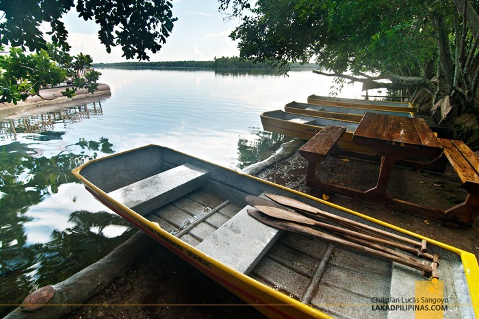 Boats for Rent at Lake Danao