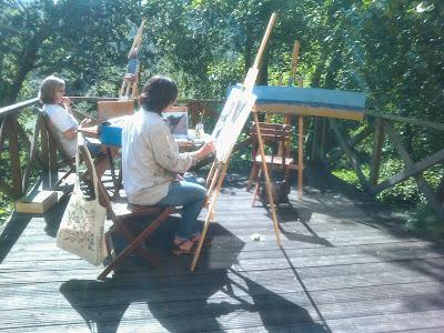 Pintar al aire libre 1