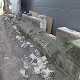 28. März 2012 Seitenschiffmauer