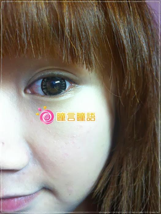 韓國GEO隱形眼鏡-芭比愛七彩鑽石咖8