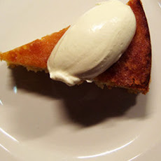 Tim's Lemon Trickle Mash Cake