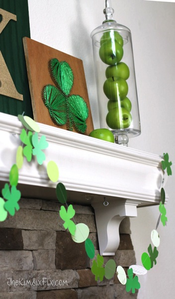 Green Saint Patricks Garland