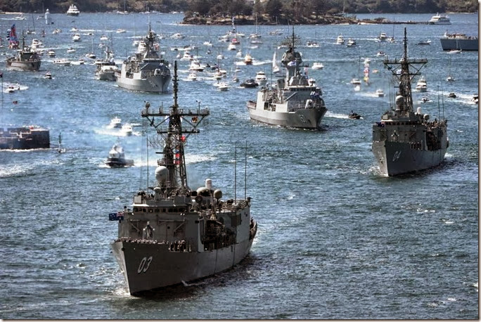 HMAS leads the fleet in