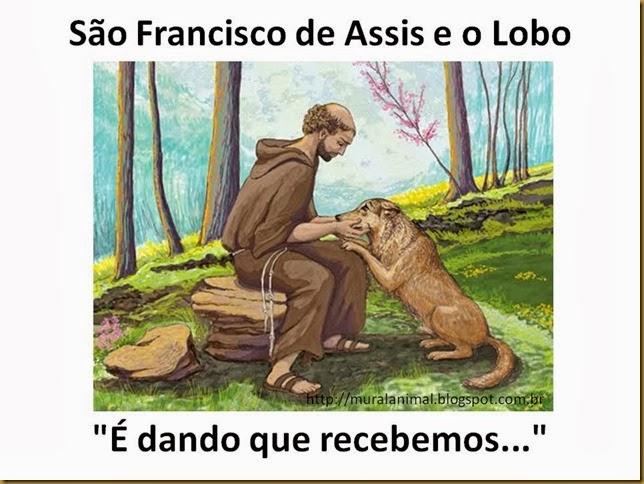 São Francisco de Assis e o Lobo