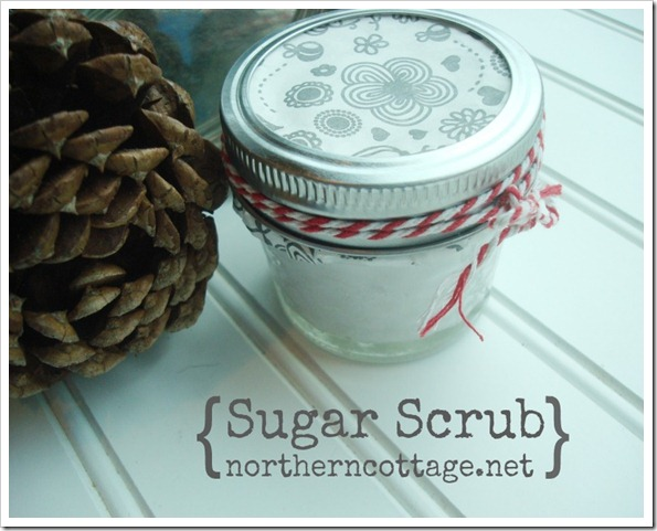DIY Sugar Scrub @ NorthernCottage.net