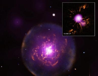 nebulosa planetária Abell 30