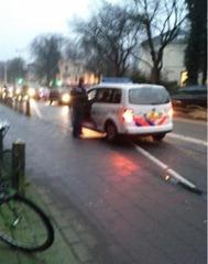 Fout parkeren om broodje t .._262x332