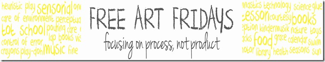 Free Art Friday Banner