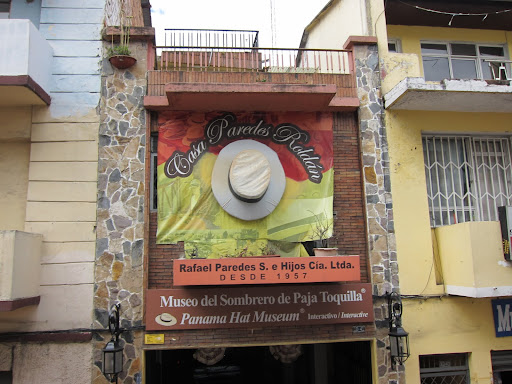 Casa Paredes Roldan's Panama Hat shop and museum