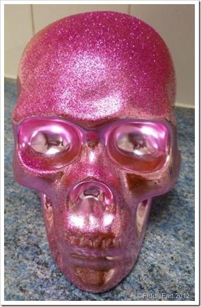 pink Skull money box