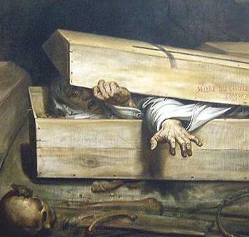 Hasty_Burial, inumazione precipitosa A.Wiertz, 1854 (part)