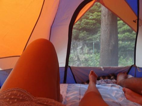 teorias - acordar na tenda