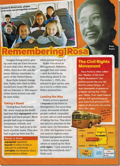 Remembering Rosa Parks - Scholastic News Feb 201302152013_0000
