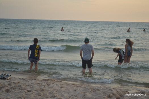 At the Beach-001