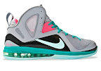 nike lebron 9 ps elite grey candy pink 0 01 LeBron 9 P.S. Elite Miami Vice Official Images & Release Date