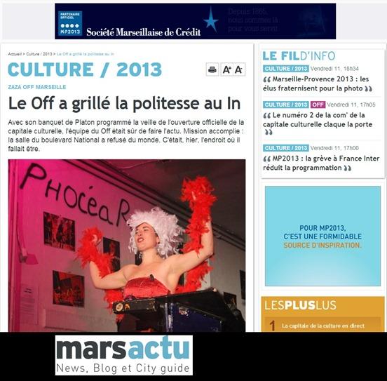 Off de Marselha 2013
