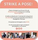 Strike a Pose vale compras 500 SPFW