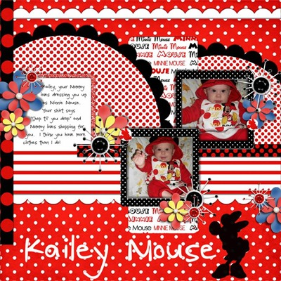 Arts and Ains Designs - Are We There Yet - Kailey Mouse