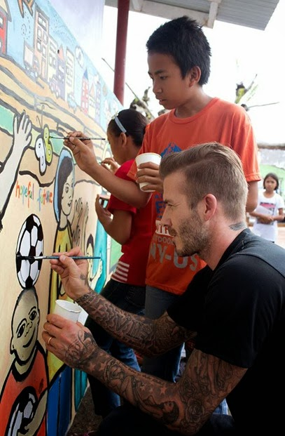 David Beckham Typhoon Haiyan Unicef (2)