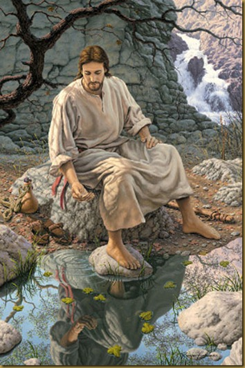 DESCANSANDO JESUS