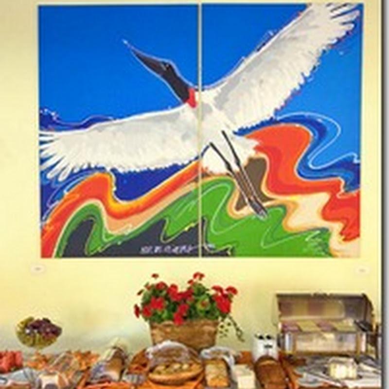 Isaac de Oliveira: pintura com traços marcantes