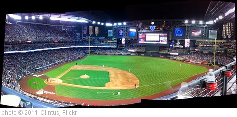 'Chase Field Panoramic' photo (c) 2011, Clintus - license: https://creativecommons.org/licenses/by-sa/2.0/