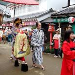 the Geisha parade at Edo Wonderland in Nikko, Totigi (Tochigi) , Japan